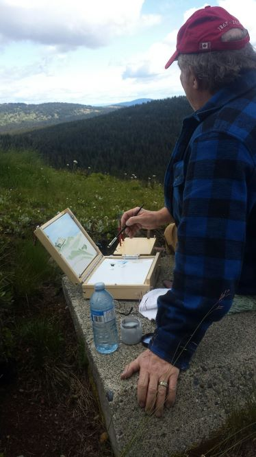 Plein Air at Manning Park