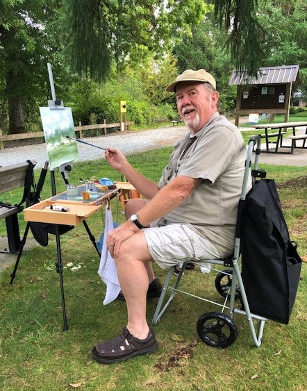 Plein Air at Como Lake